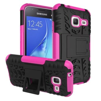 BYT Rugged Dazzle Case for Samsung Galaxy J1 Mini with Kickstand (Rose) Price Philippines