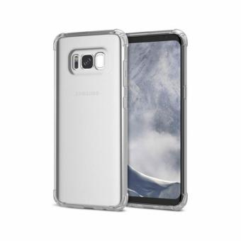 German Import Shockproof Silicone Clear Case For Samsung Galaxy S8 (Clear) Price Philippines