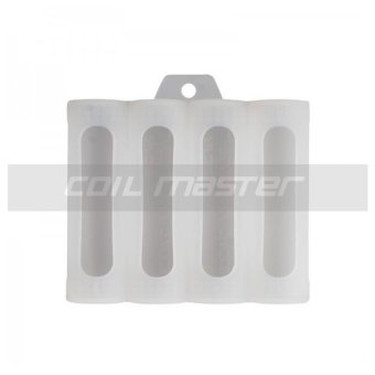 Harga Coil Master 18650 Silicone Battery Holder (White)