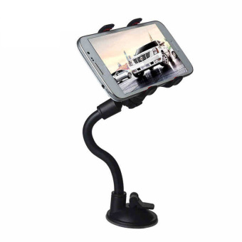 Universal 360 Degrees Sucker Phone Holder Long Arm Car Windshield Holder (Black) Price Philippines