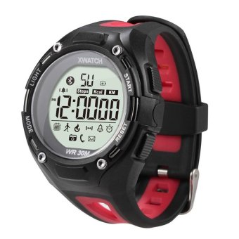 Harga XWATCH smart watch xwatch Dustproof Waterproof Sports Watch (Red) - intl