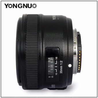 Harga Camera Lens Yongnuo YN35mm F2.0 AF/MF Fixed Focus Lens for Nikon F Mount D3200 D3300 D5100 D90 DSLR Cameras
