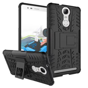 BYT Rugged Dazzle Case for Lenovo K5 Note with Kickstand (Black) Price Philippines