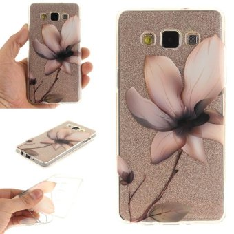 TPU Flexible Soft Case for Samsung Galaxy A5 2015 (Magnolia Flower) - intl Price Philippines