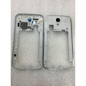 Harga Mtmaiten Middle Bezel Back Frame Back Chassis Plate Case For Samsung Galaxy Mega 6.3 I9200 Housing+Rear Camera Glass Lens - intl