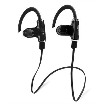 Roman S530 Sport Bluetooth Headset Wireless Earphone with Microphone (Black) Price Philippines