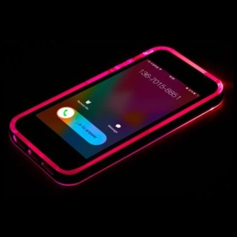 Harga Incoming Call LED Light Case for iPhone6/6S iPhone6/6S Plus iPhone5/5S - intl