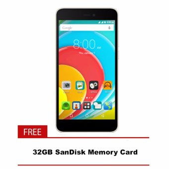 Harga O+ Upsized 8GB (Gold) with FREE Sandisk 32GB Memory SD Card