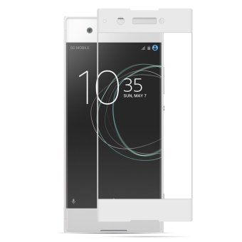 PopSky Silk Screen Full-Screen Tempered Film For Sony Xperia XA1 Ultra(White) - intl Price Philippines