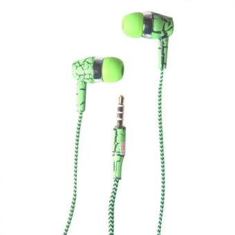 3 in 1 In - Ear Headphone with Mic and Answering Call Function (Green) Price Philippines