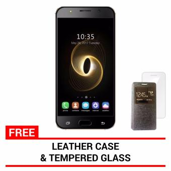 Harga QNET MOBILE STARK K1 (Black) 8GB with Free Tempered Glass