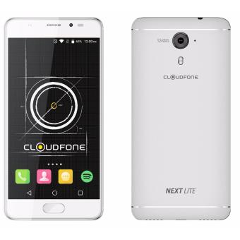 Harga CloudFone Next Lite 32GB (Silver) with Free Jelly Case and Screen Protector