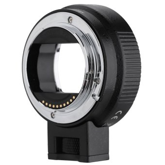 Harga Andoer Auto Focus AF EF-NEXII Adapter Ring for Canon EF EF-S Lens to use for Sony NEX E Mount 3/3N/5N/5R/7/A7/A7R/A7S/A5000/A5100/A6000 Camera Full Frame - Intl
