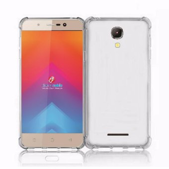 German Import Shockproof Silicone Clear Case For Cherry Mobile Flare J2s (Clear) Price Philippines