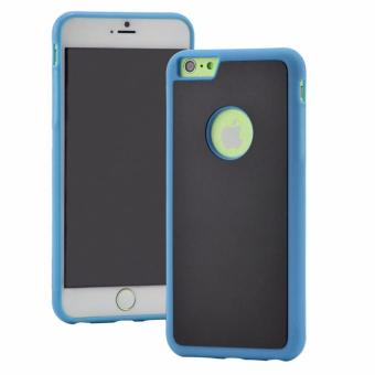 Harga Anti-Gravity Selfie Magical Sticky Rubber Case Cover For iphone 7 plus 5.5 inches (Blue)