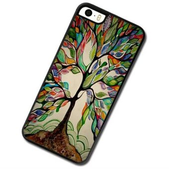 Harga Colorful tree tree Phone Case For Apple iPhone 5c - intl
