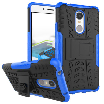 BYT Rugged Dazzle Case for Lenovo K6 Note with Kickstand (Blue) Price Philippines