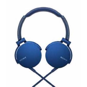 Sony MDR-XB550AP EXTRA BASS™ Headphones w/ 1YEAR WARRANTY (Blue) Price Philippines