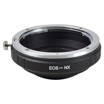 Harga MENGS NX Lens Mount Adapter Ring Aluminum And Copper Material For Canon EF Lens To Samsung NX Camera Body
