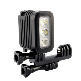 Harga Super Bright Spot LED Flash Light For GoPro Hero 4 3+ 3 Sport Camera - intl