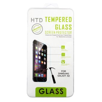 Harga HTD Premium Tempered Glass for Samsung Galaxy A8 (Clear)
