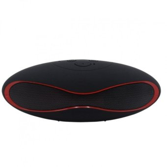 RugbyBall Style Mini-6XU Portable Bluetooth Speaker (Black) Price Philippines