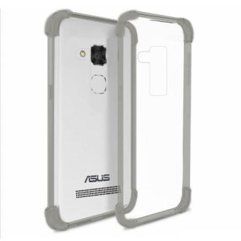German Import Shockproof Silicone Clear Case for ASUS Zenfone 3 Max (ZC520TL) (Smoke Grey) Price Philippines