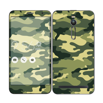 Oddstickers Phone Skin Camouflage Green 1 for Asus Zenfone 2 Price Philippines
