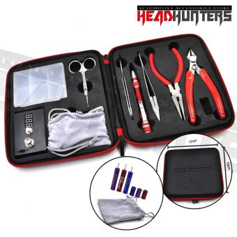 Harga Head Hunters Coil Master - DIY Tool Kit with Ohm Tester Heating Coil