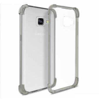 German Import Shockproof Silicone Clear Case for Samsung Galaxy A9 Pro (Smoke Grey) Price Philippines