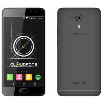 Harga Cloudfone Next Lite (Black) with Free Jelly Case and Screen Protector