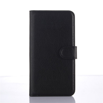 PopSky PU Leather Wallet Stand Flip Cover for Lenovo Zuk Z1 (Black) Price Philippines
