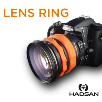 Harga HADSAN Zoom and Focus Silicone Rubber Lens Ring (ORANGE)