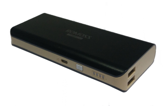Romoss Sailing 4 10400mAh Black-Gold Samsung SDi Battery Limited Edition Dual Output Powerbank (Black/Gold) Price Philippines