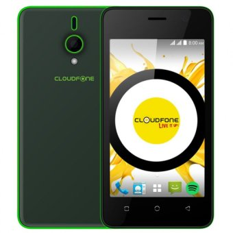 Harga CloudFone Spotify Edition Lite 8GB (Black) with FREE Spotify Earphones