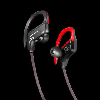 Harga SP-6 Bluetooth Headphones Sweatproof Wireless Sport Earphones (Black) - intl