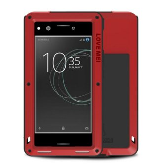 Harga LOVE MEI Powerful Luxury Doom Metal Armor Aluminum Coque Case FOR SONY Xperia XZ Premium - intl