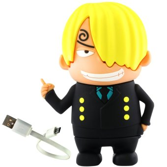 ANIME ZONE One Piece Black Leg Sanji Vinsmoke 8800 mAh Cool Chibi Power Bank Price Philippines