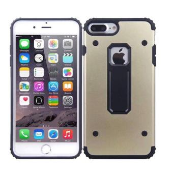 Harga Aluminum Metal Phone Case for Apple iPhone 7 Plus - Gold