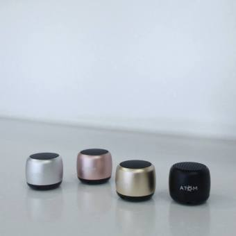 Atom Nano Portable Bluetooth Speaker (Rose Gold) Price Philippines