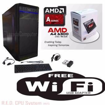 R.E.D Basic WiFi CPU, AMD A4-6300 Richland 3.7GHz Dual-Core Price Philippines