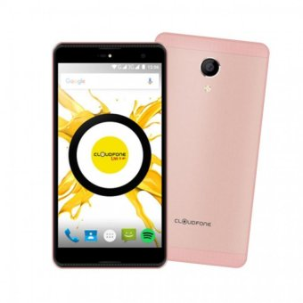 Harga Cloudfone Thrill Plus 16GB (Rose Gold) with Free Spotify Earphones/Protective Cover/Kickstand