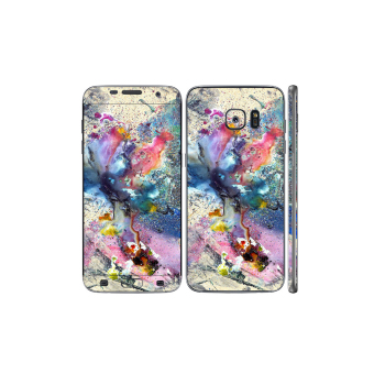 Oddstickers Cosmic Flower Phone Skin Cover for Samsung Galaxy S7 Edge Price Philippines