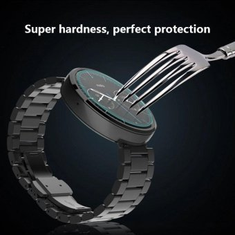 New Premium Tempered Glass Screen Film For Samsung Galaxy Gear S3 Watch - intl Price Philippines