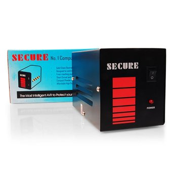 Secure 500WATTS AVR (Black) Price Philippines