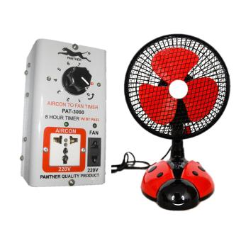 Harga Panther PAT3000 Aircon to Fan Timer (White)