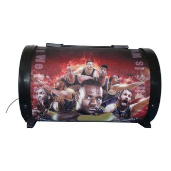 Ilike IE-561 NBA Printed Subwoofer Speaker(red) Price Philippines