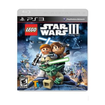Harga LEGO Star Wars III The Clone Wars for PS3