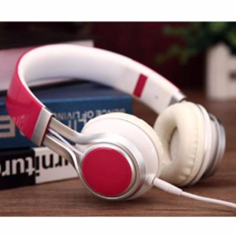 EP-16 Headphone Extra Bass Stereo HeadHones (Pink) Price Philippines