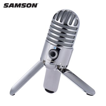 Harga Samson Meteor Mic Studio Desktop Recording Condenser Microphone Fold-back Legs Design with USB Cable Carrying Bag for Computer NoteBook Tablet PC - intl